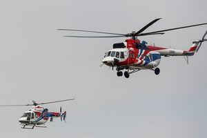 Trực thăng quân sự hiện đại nhất của Nga trình diễn trên bầu trời Hà Nội