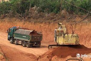 Gia Lai: Rầm rập khai thác đất lậu, lãnh đạo xã huyện không ai biết?