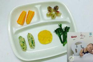 Học mẹ 9X dạy con ăn bốc vượt qua BLW một cách dễ dàng, mỗi bữa ăn là một niềm vui thích
