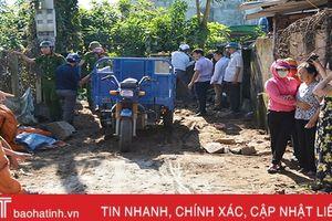 Cưỡng chế công trình xây dựng vi phạm tại thị xã Hồng Lĩnh