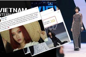 Loạt người mẫu tố Vietnam International Fashion Week chậm trả tiền cát-sê