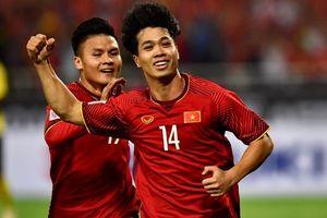 Highlights Công Phượng, Anh Đức ghi bàn, Việt Nam thắng Malaysia 2-0