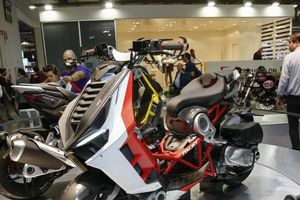 'Bom tấn' xe ga của cựu phi công khiến khách hàng mê mẩn