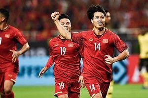 Highlight trận Việt Nam 2-0 Malaysia: Công Phượng, Anh Đức lập công. Việt Nam giành trọn 3 điểm