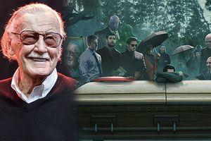 Bức ảnh các siêu anh hùng Marvel đau buồn bên quan tài của huyền thoại Stan Lee gây xúc động mạnh