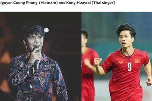 Công Phượng bị báo châu Á 'đổi tên' thành Nguyễn Cuồng Phong