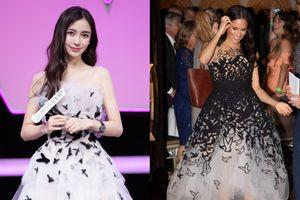 Khi diện váy công chúa, Angelababy - Địch Lệ Nhiệt Ba đều chào thua trước Meghan Markle