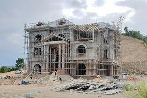 Thanh Hóa: Vì sao Công ty Công Thanh san cả quả đồi để xây biệt thự không phép mà không bị xử lý dứt điểm?