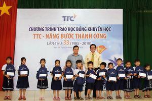 Trao học bổng 'TTC - Nâng bước thành công' lần thứ 33