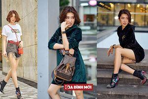 Thúy Ngân 'Gạo nếp gạo tẻ' khoe street style chất lừ trên đường phố Sài Gòn