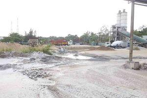 TP. Hồ Chí Minh: Trạm trộn bê tông Soam Vina hoạt động gây ô nhiễm môi trường