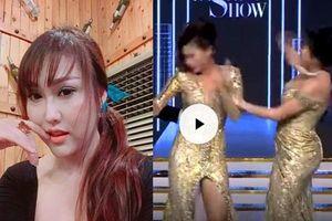 Phi Thanh Vân lên tiếng sau clip tát đồng nghiệp sấp mặt: 'Tát thay ai đã và sắp phẫu thuật thẩm mỹ'