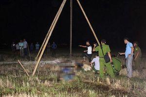 Khởi tố vụ bốn người bị điện giật chết khi dựng cột viễn thông
