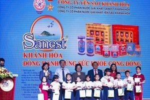 Trao giải thưởng Sanest Khánh Hòa – Niềm tự hào thương hiệu Việt Nam'