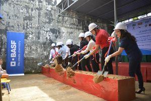 BASF cải thiện môi trường học tập cho trường mẫu giáo tại Đồng Nai