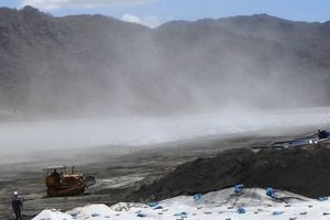 'Đau đầu' với hàng triệu tấn tro xỉ của nhiệt điện Vĩnh Tân