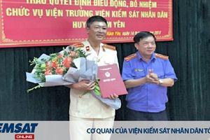 Tuyên Quang: Công bố, trao Quyết định bổ nhiệm Viện trưởng VKSND huyện Hàm Yên