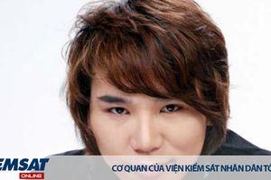 Ca sĩ Châu Việt Cường bị khởi tố về tội Giết người
