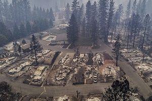 Cảnh hoang tàn sau thảm họa cháy rừng ở Bắc California