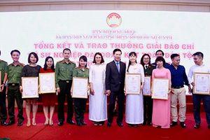 Báo CAND đoạt 4 giải tại giải báo chí 'Vì sự nghiệp đại đoàn kết toàn dân tộc'