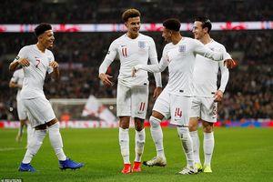 ĐT Anh 'đè bẹp' ĐT Mỹ trong ngày tri ân Rooney