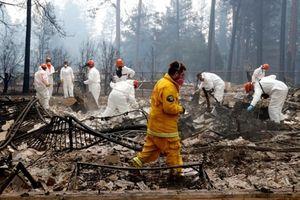 Số người thiệt mạng, mất tích do cháy rừng ở California tiếp tục tăng