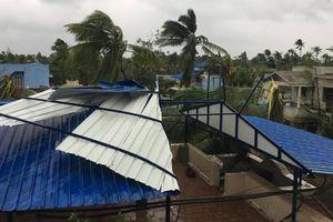 Bão Gaja đổ bộ Ấn Độ, 11 người chết