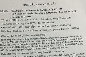 Phó Thủ tướng Trương Hòa Bình yêu cầu làm rõ vụ chung cư Topaz City