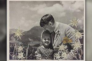 Bức ảnh trùm phát xít Hitler ôm bé gái Do Thái được bán với giá 'khủng'