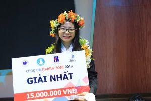 Sinh viên đoạt giải khởi nghiệp với dự án kết nối người và việc