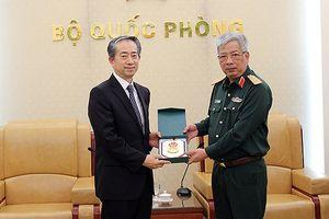 Hợp tác quốc phòng Việt - Trung đang phát triển tốt đẹp