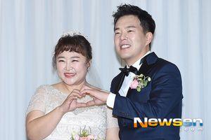 Lễ cưới ngọt ngào của 'cô béo làng hài Hàn Quốc' và chồng điển trai