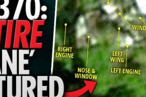 Hình ảnh toàn bộ mảnh vỡ máy bay MH370 trong rừng Campuchia?