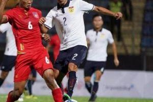 Chưa đá với Việt Nam ở AFF Cup, Myanmar đã chịu tổn thất về lực lượng
