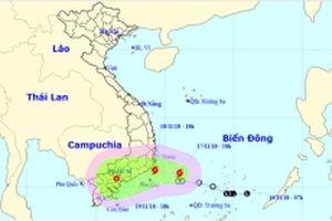 Áp thấp nhiệt đới đã mạnh thành bão số 8