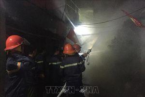 Nghệ An: Kịp thời dập tắt đám cháy không để lây lan sang khu vực xung quanh