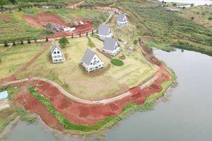 19 nhà gỗ không phép tại KDL Quốc gia hồ Tuyền Lâm đã được di dời