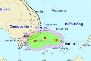 Ứng phó với áp thấp nhiệt đới trên Biển Đông hướng về Nam Bộ