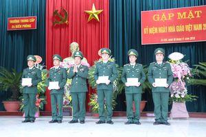 Trường Trung cấp 24 Biên phòng gặp mặt kỷ niệm Ngày Nhà giáo Việt Nam