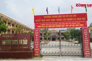 Hưng Yên: Hiệu trưởng Trường THCS An Tảo lạm thu, vi phạm quy định về quản lý tài chính?