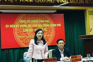 Phó Thủ tướng Vương Đình Huệ đánh giá cao nỗ lực của Bộ Y tế