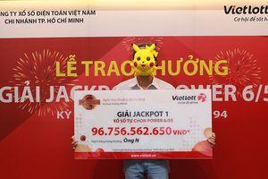 Vietlott 'nổ' giải khủng 52 tỷ đồng: Về tay đại gia Sài Gòn