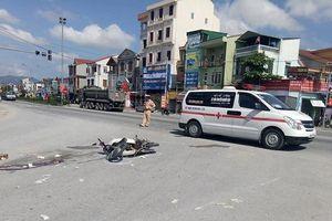 Hà Tĩnh: Gây tai nạn chết người, xe đầu kéo tăng tốc chạy trốn