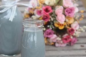 Cách nấu sữa mè đen vừa ngon, vừa có lợi cho sức khỏe