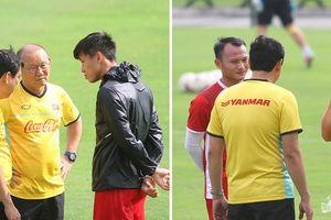 HLV Park Hang Seo gặp riêng Văn Đức - Công Phượng và hàng thủ trước giờ sang Myanmar