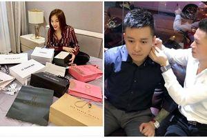 Quà sinh nhật sao Việt: Kỳ Duyên bóc loạt đồ hiệu muốn 'gãy' tay, Tuấn Hưng mua kim cương 7 tỷ