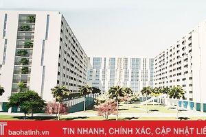 Nhà ở xã hội Hà Tĩnh: Môi trường sống tiện ích, văn minh, hiện đại