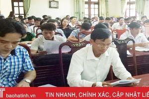Gần 150 cán bộ, công chức Lộc Hà được lớp tập huấn về ISO 9001: 2015