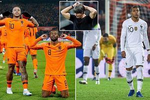 Hà Lan nổi lốc khiến ĐKVĐ Pháp ôm hận, Đức xuống hạng