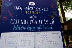Đường sách TP.HCM tổ chức chuỗi hoạt động 'Tri ân thầy cô'